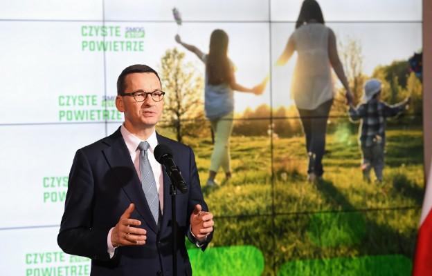 Premier: zmiany w programie Czyste Powietrze mają ograniczyć biurokrację
