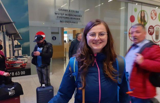 Karolina Licznar przez siedem tygodni była wolontariuszką w Domu Pokoju w Betlejem