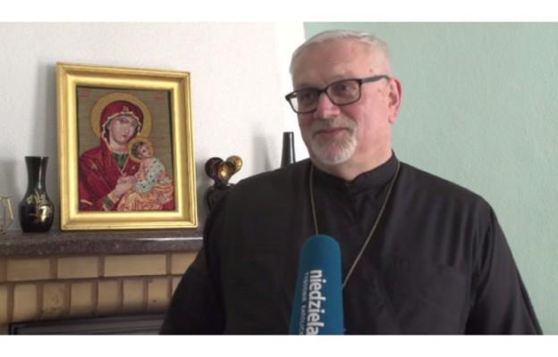 ks. mitrat Mirosław Drabiuk, proboszcz parafii prawosławnej pw. św. Mikołaja w Częstochowie