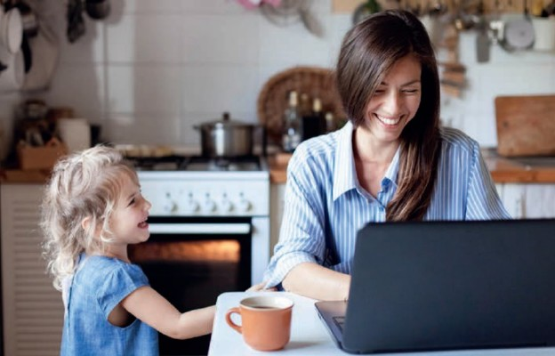Dzieci i zdalna praca