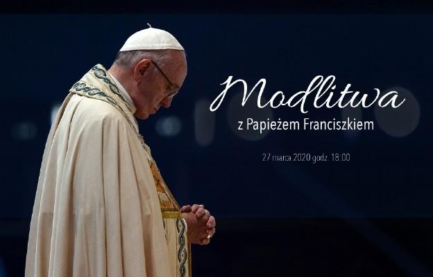 Papież na Placu św. Piotra będzie wznosił ręce i prosił, żeby Bóg się ulitował nad nami