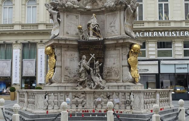 Pomnik Trójcy Świętej w Wiedniu.