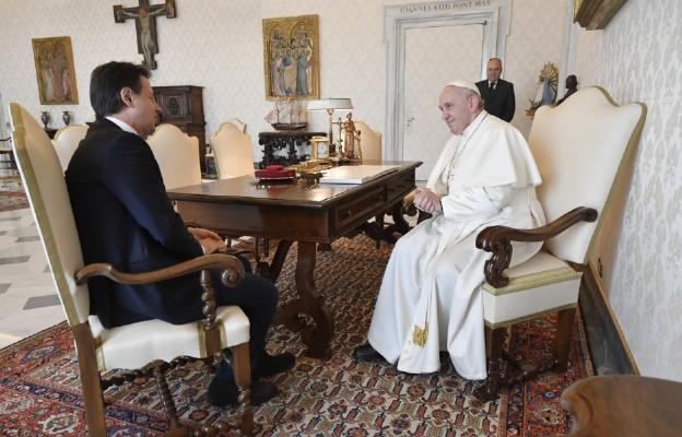 Papież przyjął premiera Włoch
