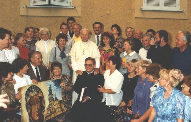 Diecezjanie z Janem Pawłem II