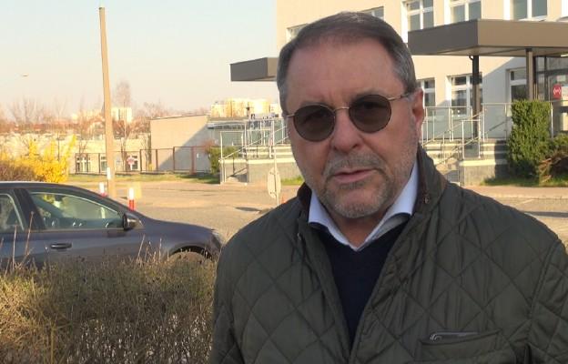 Na zdjęciu Zbigniew Bajkowski, dyrektor Wojewódzkiego Szpitala Specjalistycznego im. Najświętszej Maryi Panny w Częstochowie