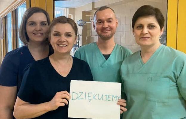 Caritas Polska i Polskie Sieci Elektroenergetyczne pomagają medykom w całej Polsce
