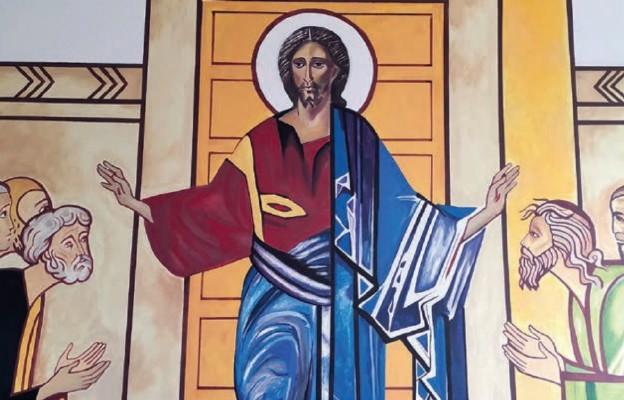 Zmartwychwstały Pan ukazuje się Apostołom – kościół Świętej Bożej Opatrzności w Zamościu