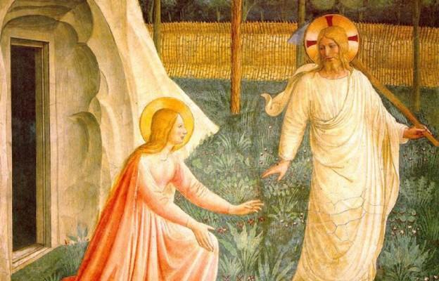 Fra Angelico, fresk Noli me tangere
