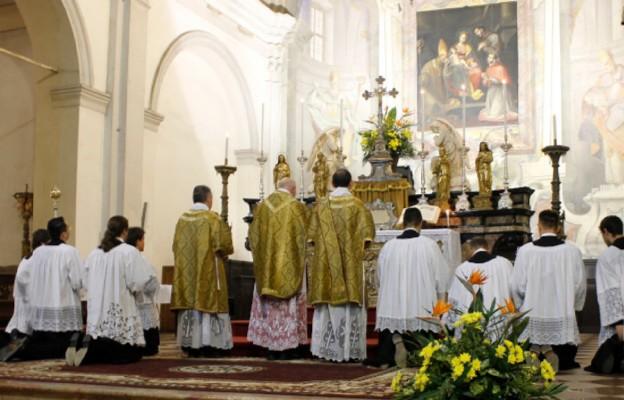 Msza św. sprawowana w rycie mediolańskim