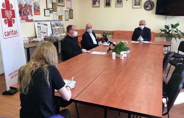 Konferencja prasowa w diecezjalnej Caritas