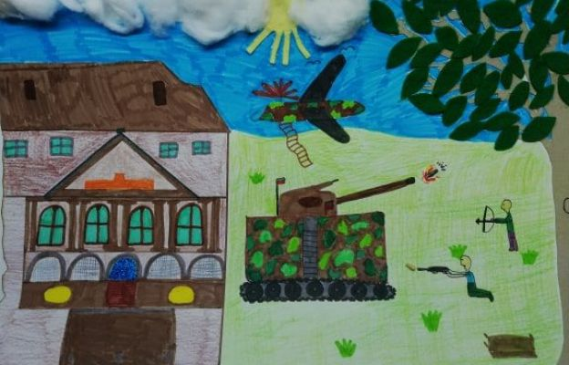 Jedna z nadesłanych prac 11-letniej Hani z okolic Zielonej Góry