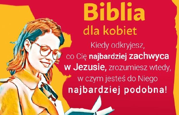 Pierwsza w Polsce Biblia dla kobiet