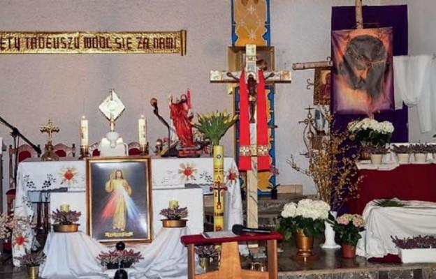 Nocna adoracja Najświętszego Sakramentu w Lubiczu