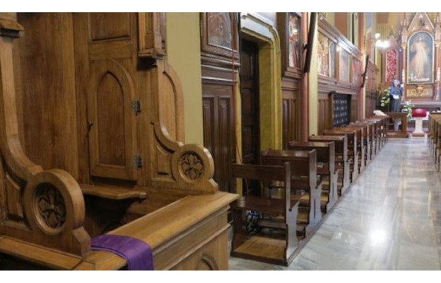 Konfesjonał św. Siostry Faustyny