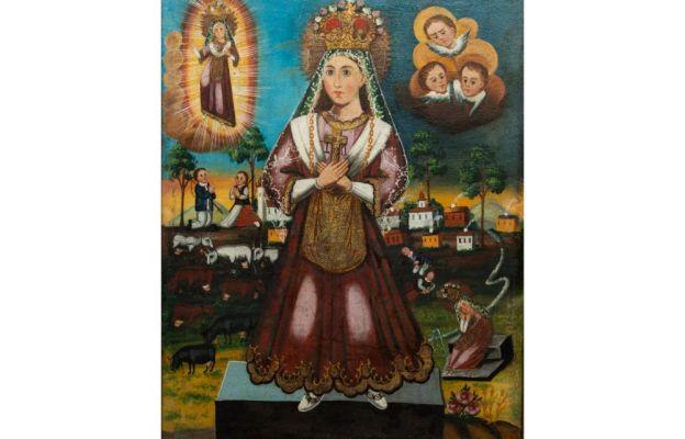 Maryja patrząca na mnie - wizerunek Matki Bożej Saletyńskiej