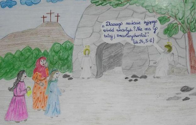 Praca ucznia Szkoły Podstawowej nr 3 im. Jana Pawła II w Siemiatyczach