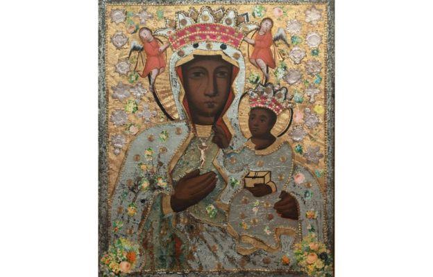 Maryja patrząca na mnie - wizerunek Matki Boskiej Bamberskiej