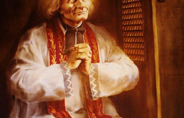 Wizerunek św. Jana Marii Vianneya czczony w sanktuarium w Czeladzi