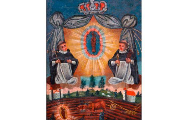Maryja patrząca na mnie - wizerunek Matki Bożej Gidelskiej
