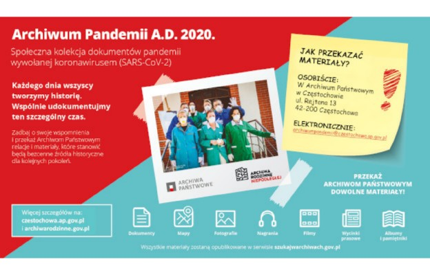 Archiwum Pandemii A.D.2020 - tworzymy historię