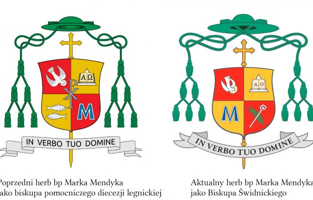 Legnicki i Świdnicki herb bp Marka Mendyka