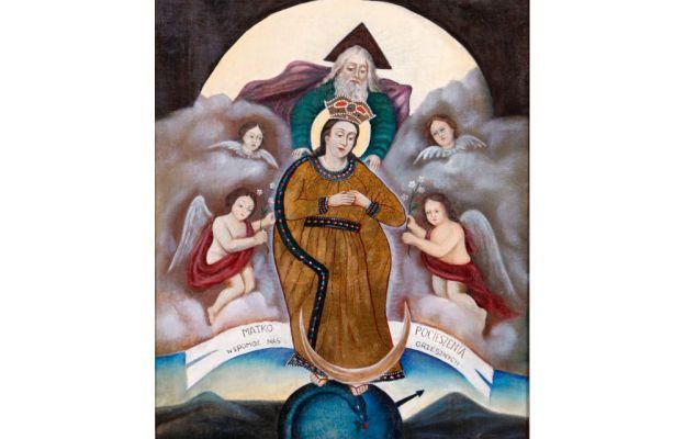 Maryja patrząca na mnie - wizerunek Matki Bożej Pasierbickiej