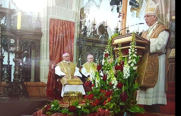 Kraków: Msza św. ku czci św. Stanisława, głównego Patrona Polski