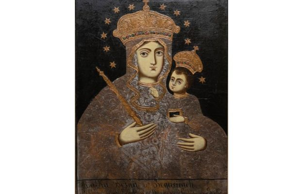 Maryja patrząca na mnie - wizerunek Matki Bożej Bogucickiej