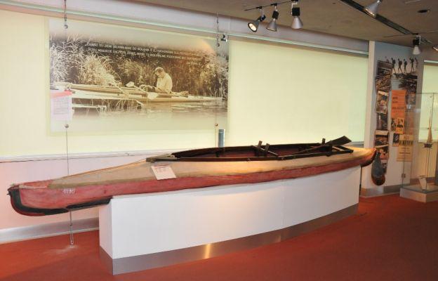 Kajak, którym pływał Karol Wojtyła znajduje sięw Muzeum Sportu i Turystyki w Warszawie