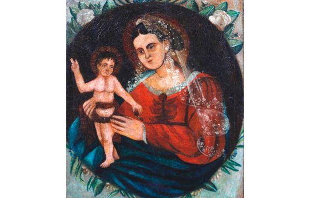 Maryja patrząca na mnie - wizerunek Madonny Żywieckiej