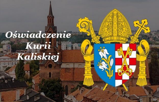 """Oświadczenie Kurii Diecezjalnej w Kaliszu w związku z ukazaniem się filmu """"Zabawa w chowanego"""""""