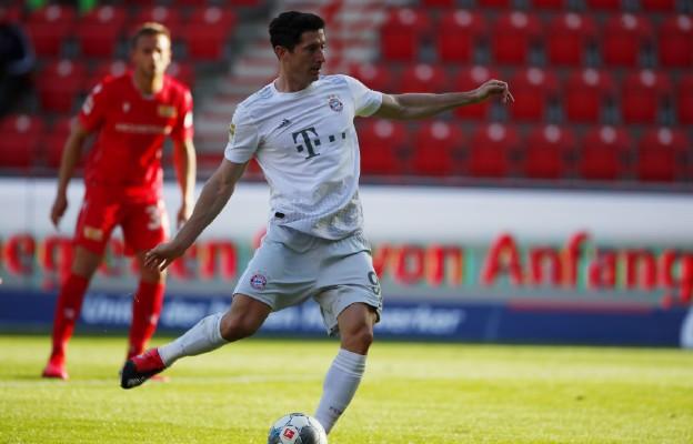 Liga niemiecka - Lewandowski znowu strzela