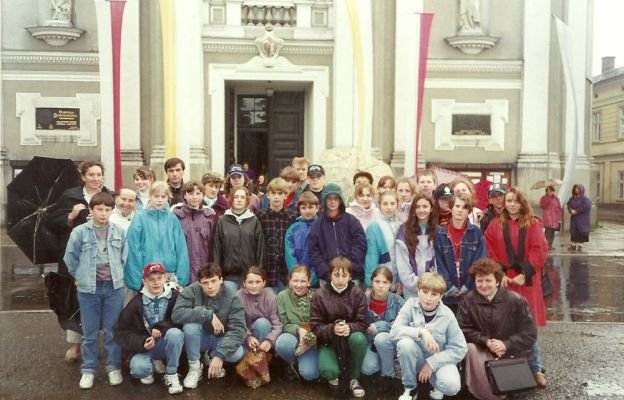 Na szlaku Karola Wojtyły (1995 r.)