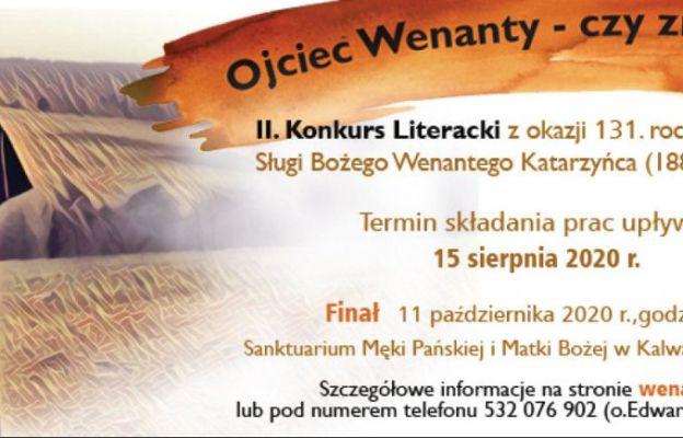 II Konkurs Literacki o Ojcu Wenantym Katarzyńcu