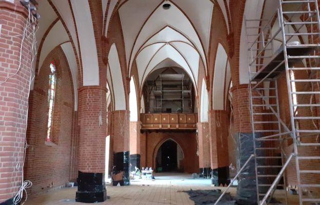 Jak wyglądają prace remontowe w katedrze?