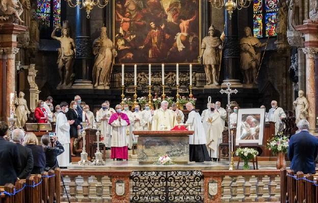 Wiedeń uczcił Jana Pawła II