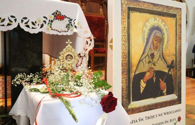 Św. Rita w parafii pw. Trójcy Świętej