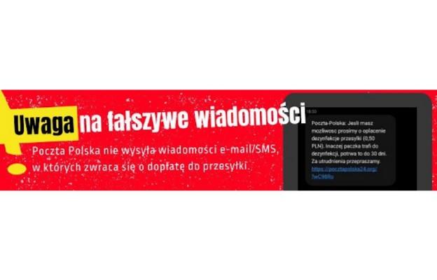 Poczta Polska ostrzega klientów przed cyberprzestępcami