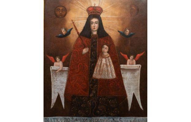 Maryja patrząca na mnie - wizerunek Matki Bożej Kodeńskiej