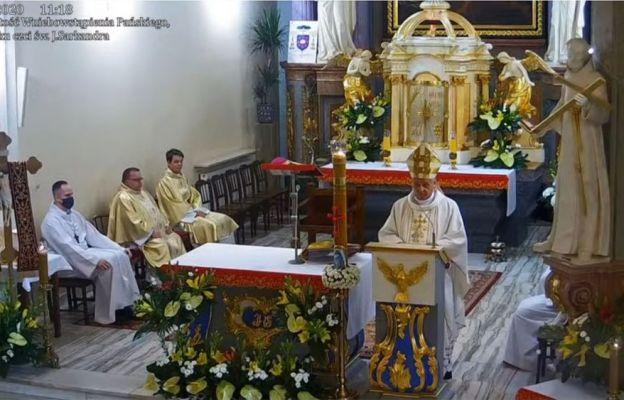 Biskup Roman Pindel nawiązał w Skoczowie do tematyki sumienia podjętej przez Papieża na skoczowskiej Kaplicówce w 1995 r.