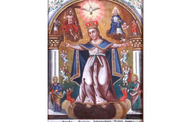 Maryja patrząca na mnie - wizerunek Wniebowzięcia Najświętszej Maryi Panny