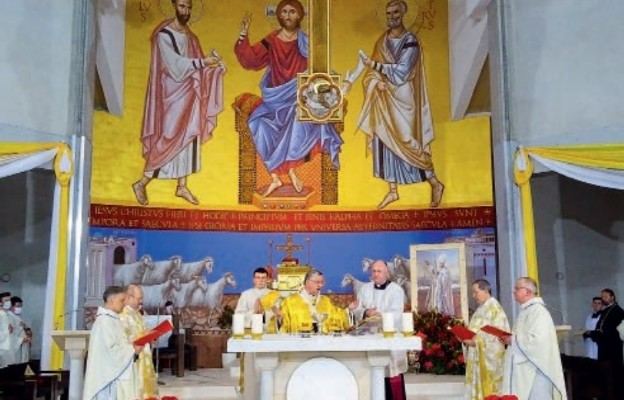 Dziękczynna Msza św. pod przewodnictwem abp. Andrzeja dzięgi