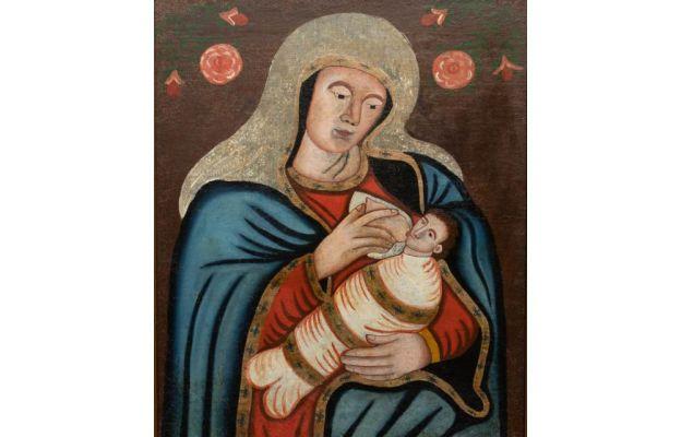 Maryja patrząca na mnie - wizerunek Matki Bożej Karmiącej