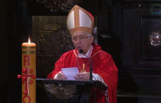 Abp Depo: Nie ma życia poza Chrystusem w Duchu Świętym