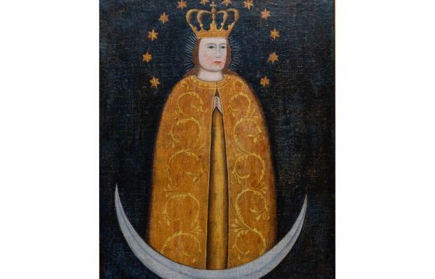 Maryja patrząca na mnie - wizerunek Matki Bożej Skępskiej