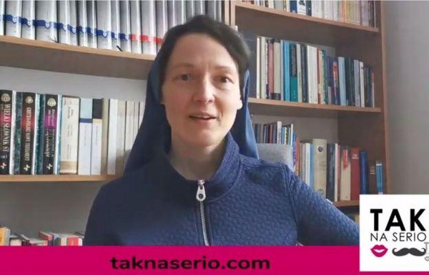 Siostra Judyta Pudełko głosiła pierwszą konferencję.