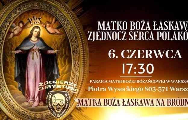 Będą prosić Matkę Bożą Łaskawą o jedność Polaków