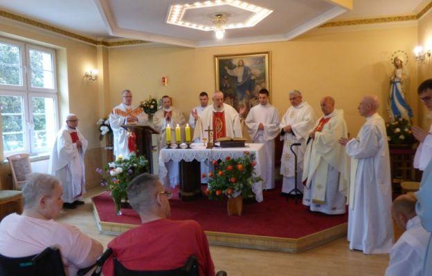 Modlitwa dziękczynna w ZOLu Caritas