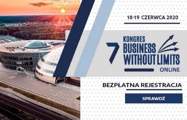 Business Without Limits – kongres gospodarczy w Internecie już 18-19 czerwca!