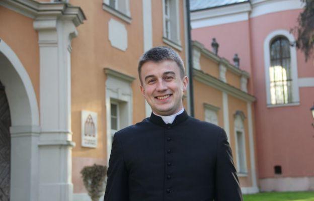 ks. Wojciech Lisiewicz pochodzi z parafii św. Alberta w Zielonej Górze